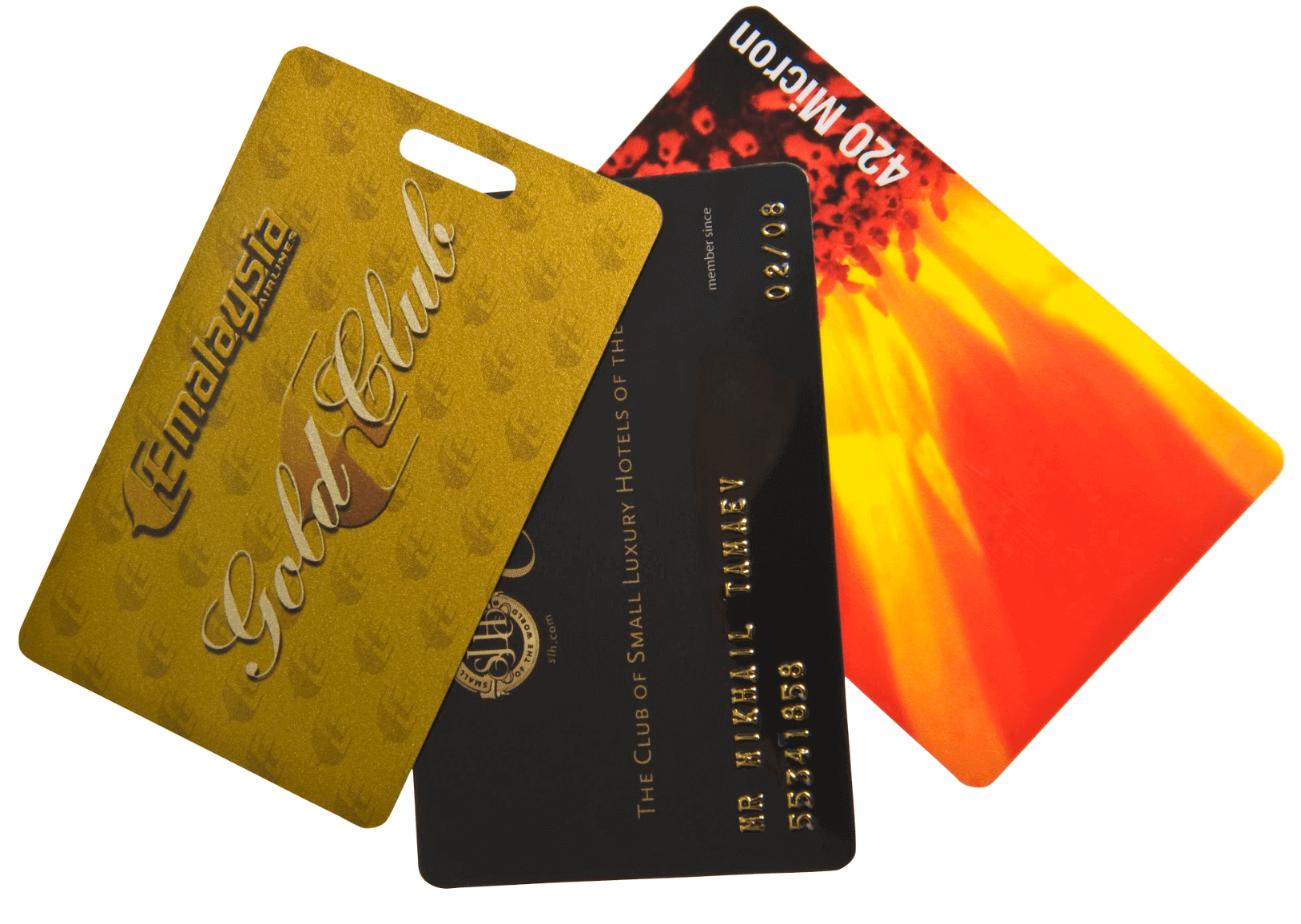 Bespoke Plastic Cards & Travel Luggage Tags