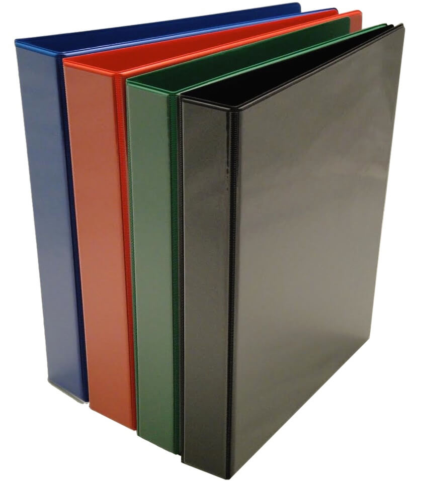 Coloured Ring Binders