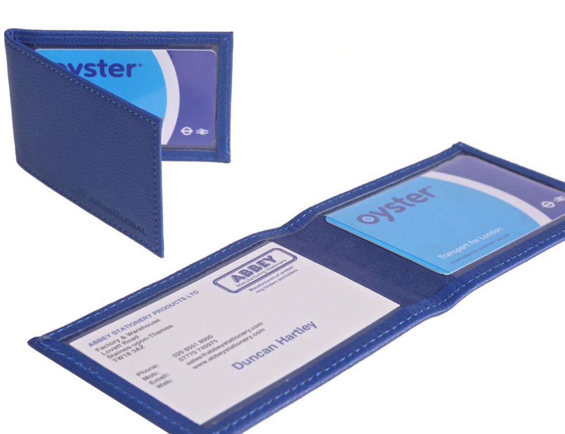 Oyster Card and Membership Card Wallets
