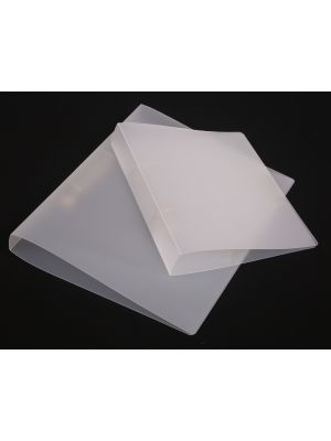 A4 Frosted Polypropylene Ring Binder