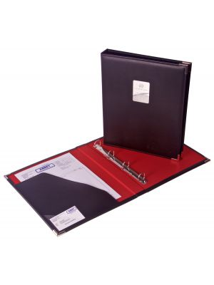 A4 Printed Leather Ring Binders