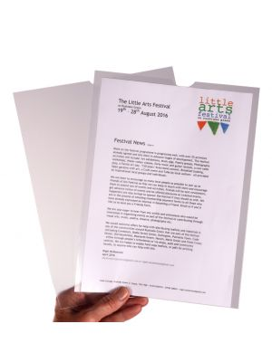 A4 Unpunched Page Pocket Sleeve