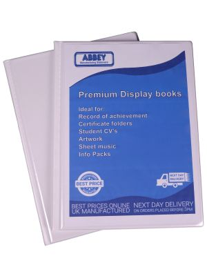 a4-white-display-book