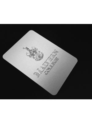 binder with Engraved plaque
