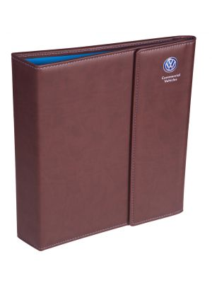 Leather Binders Flap Closure