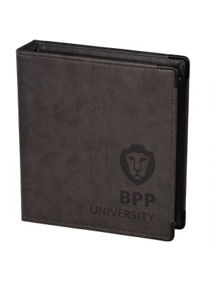 Personalised A5 Leather Ring Binder