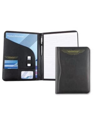 Printed Leather Conference Folder