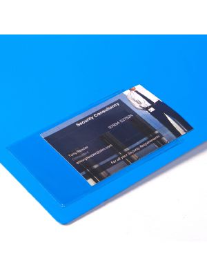 Business Card Adhesive Pockets
