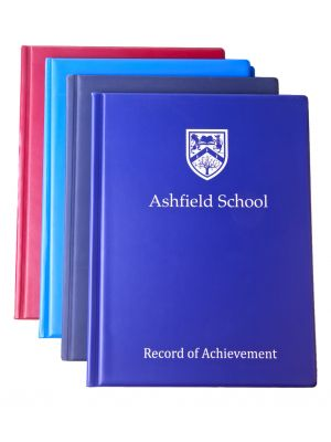 Printed Student Record of Achievement Folder